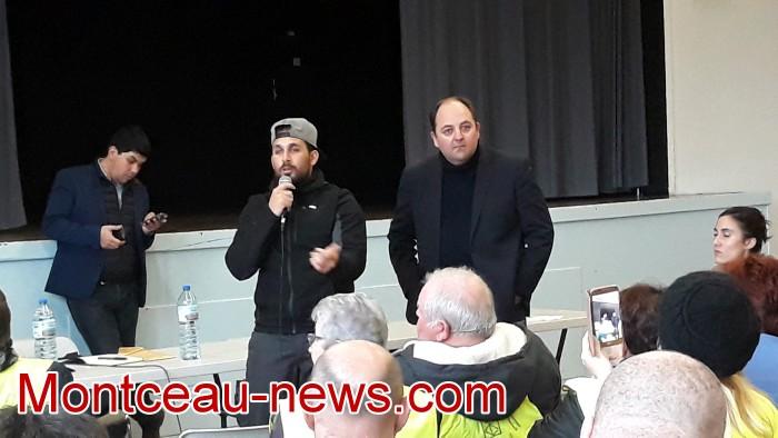 Mouvement gilets jaunes Magny Montceau social Montceau-news.com 09031930