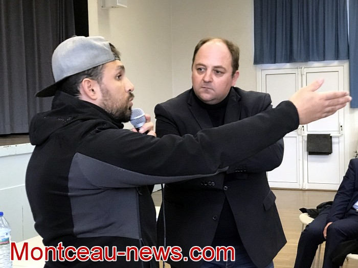 Mouvement gilets jaunes Magny Montceau social Montceau-news.com 09031932