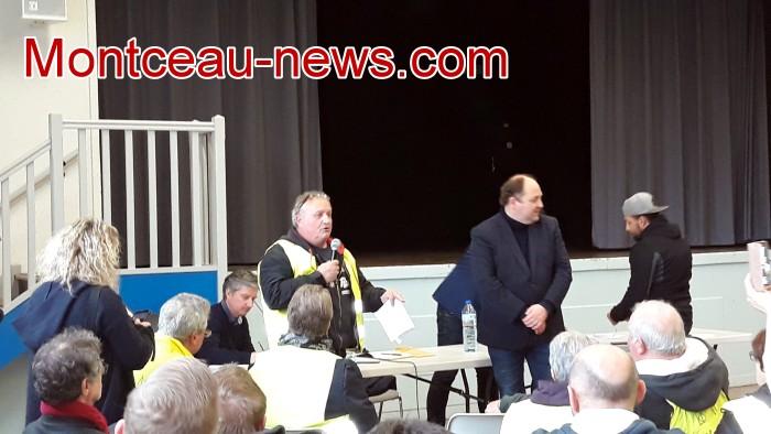 Mouvement gilets jaunes Magny Montceau social Montceau-news.com 09031934