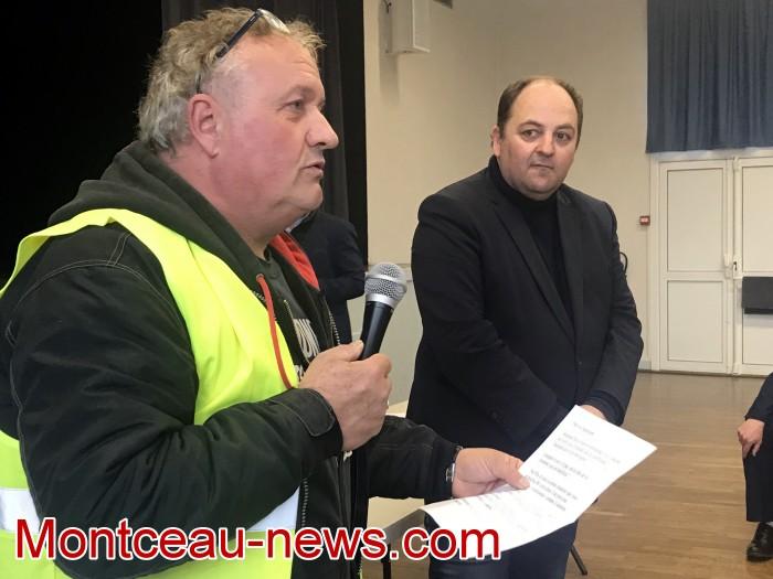 Mouvement gilets jaunes Magny Montceau social Montceau-news.com 09031935
