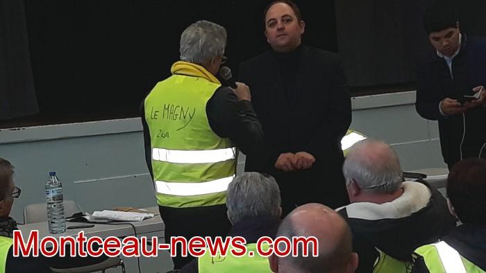 Mouvement gilets jaunes Magny Montceau social Montceau-news.com 09031938