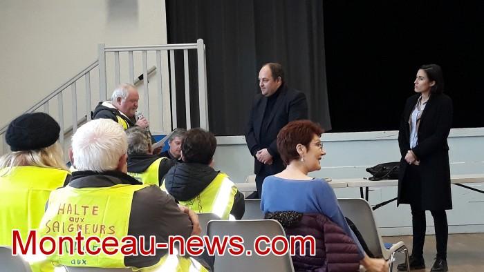 Mouvement gilets jaunes Magny Montceau social Montceau-news.com 0903194