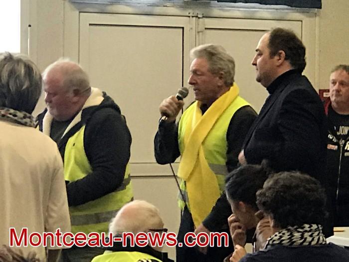 Mouvement gilets jaunes Magny Montceau social Montceau-news.com 09031940