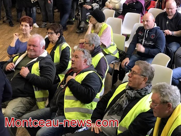 Mouvement gilets jaunes Magny Montceau social Montceau-news.com 09031941