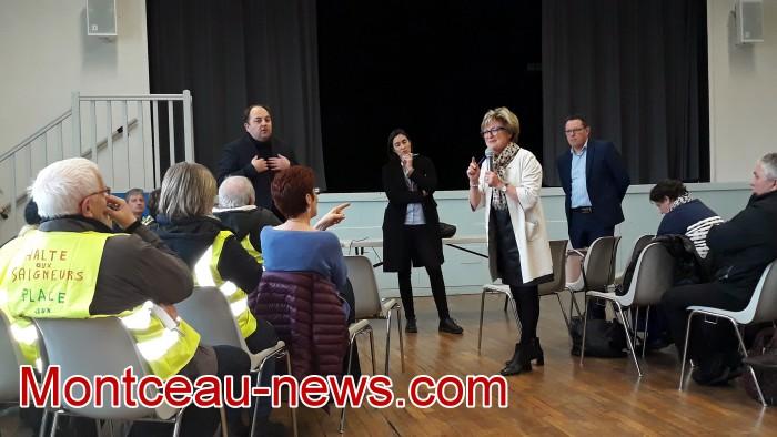 Mouvement gilets jaunes Magny Montceau social Montceau-news.com 0903195