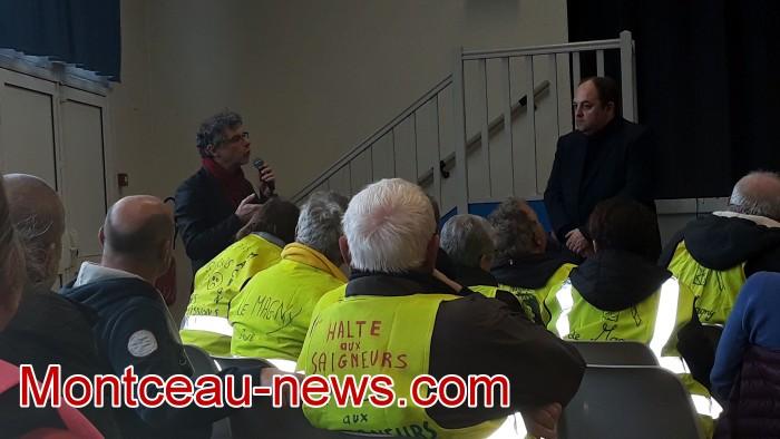 Mouvement gilets jaunes Magny Montceau social Montceau-news.com 0903199