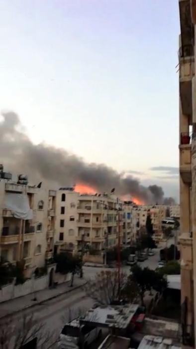 SEDDIK Adnan Syria Charity bombardemant ville Idlib cadavres Montceau-news.com 1303192