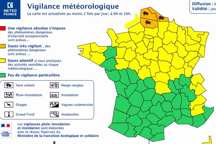 Vigilance meteo vent wind 71 saone et loire Montceaun-ews.com 090319