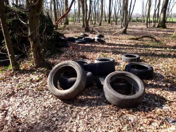 ordures bois wood decharge sauvage nature environnement coup gueule lecteur Montceau-news.com 2403195