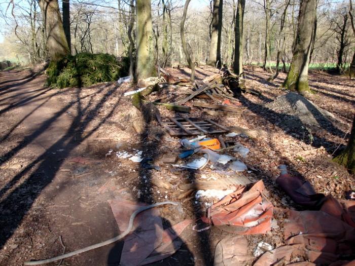 ordures bois wood decharge sauvage nature environnement coup gueule lecteur Montceau-news.com 2403198