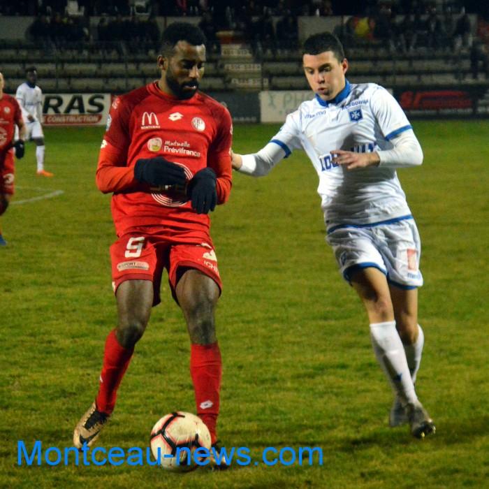Adonis Tchounet foot FCMB Montceau-news.com 050419