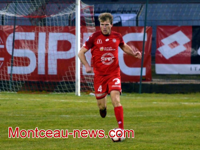 Benoit Darcy foot soccer FCMB blessure fracture main hand Montceau-news.com 190419