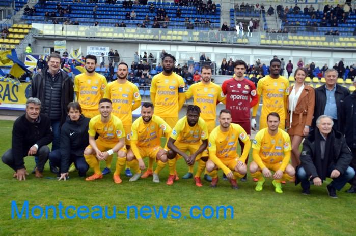 FC Gueugnon, foot soccers national3 Sochaux Montceau-news;com 070418