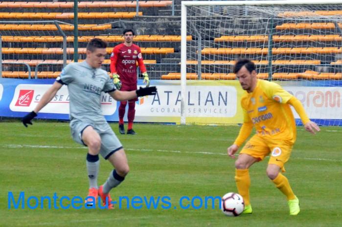 FC Gueugnon, foot soccers national3 Sochaux Montceau-news;com 07041813
