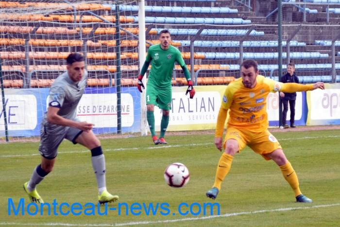 FC Gueugnon, foot soccers national3 Sochaux Montceau-news;com 07041814