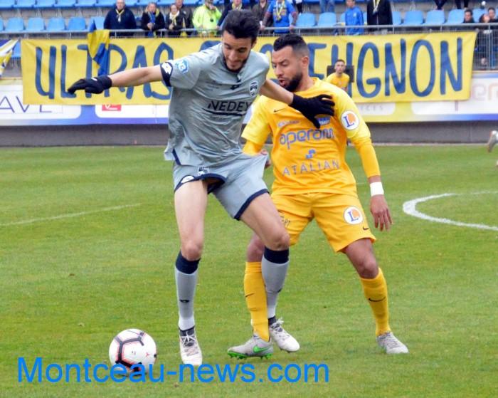 FC Gueugnon, foot soccers national3 Sochaux Montceau-news;com 07041818