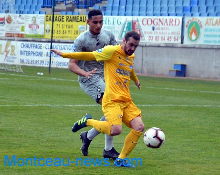 FC Gueugnon, foot soccers national3 Sochaux Montceau-news;com 07041822