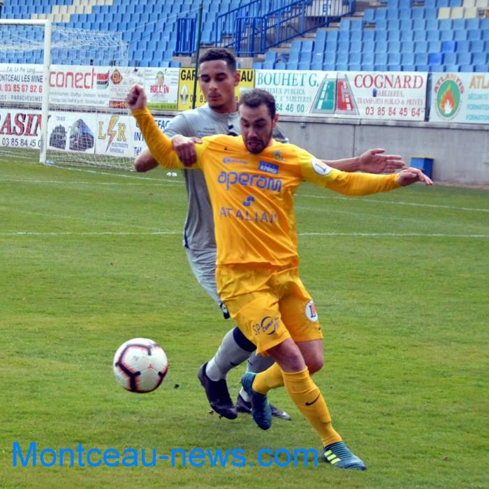 FC Gueugnon, foot soccers national3 Sochaux Montceau-news;com 07041823