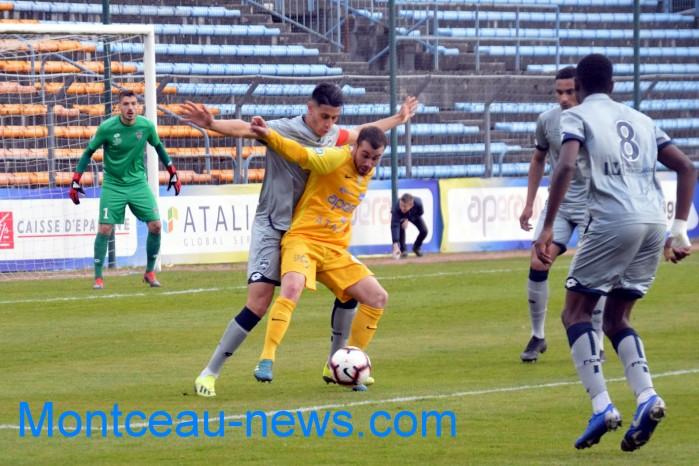 FC Gueugnon, foot soccers national3 Sochaux Montceau-news;com 07041825