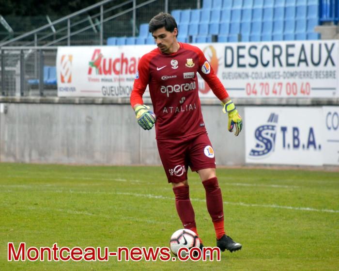 FCG foot Gueugnon Auxerre National3 Montceau-news;com 140419