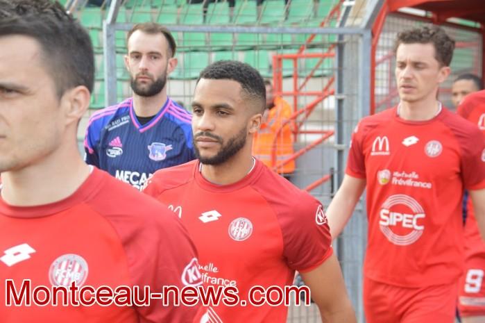 FCMB Besancon foot soccers match national3 Montceau-news.com 14041913