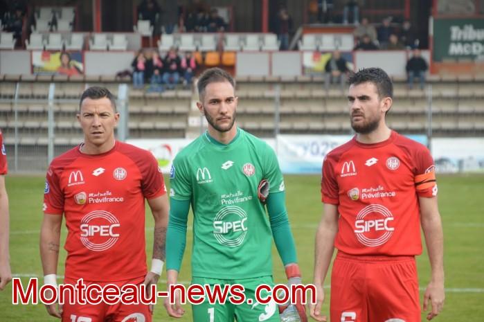 FCMB Besancon foot soccers match national3 Montceau-news.com 14041915