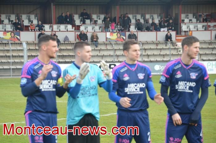FCMB Besancon foot soccers match national3 Montceau-news.com 14041917