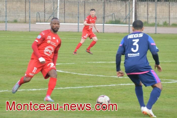 FCMB Besancon foot soccers match national3 Montceau-news.com 14041919
