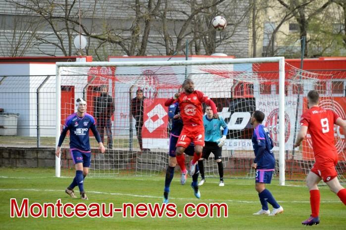 FCMB Besancon foot soccers match national3 Montceau-news.com 1404192