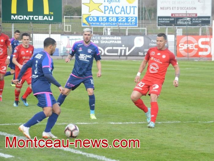 FCMB Besancon foot soccers match national3 Montceau-news.com 14041920