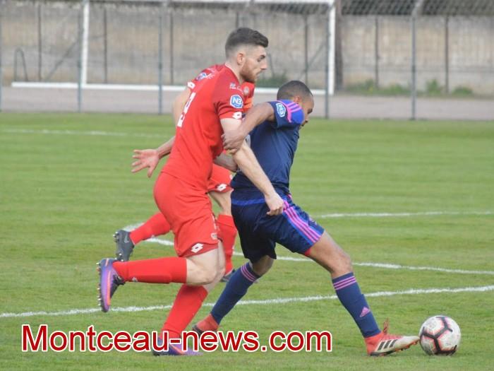 FCMB Besancon foot soccers match national3 Montceau-news.com 14041921