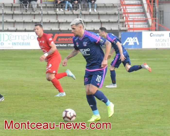FCMB Besancon foot soccers match national3 Montceau-news.com 14041924