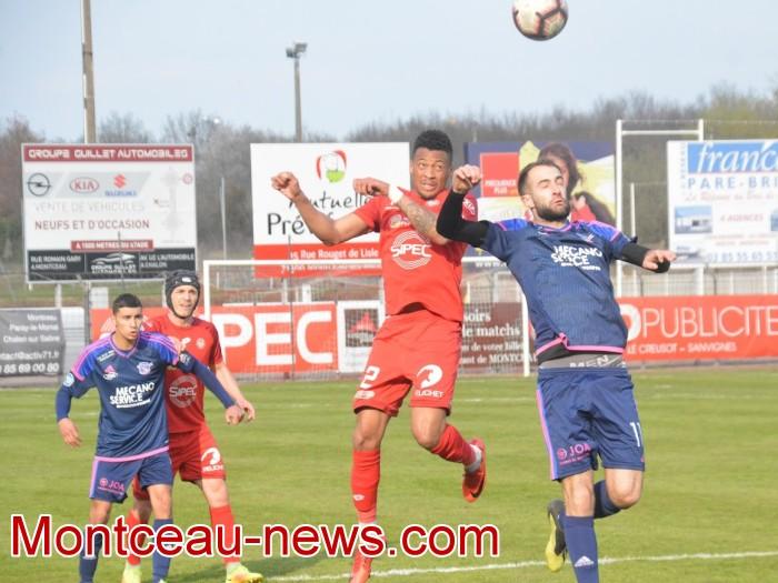 FCMB Besancon foot soccers match national3 Montceau-news.com 14041925