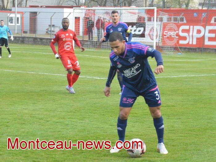 FCMB Besancon foot soccers match national3 Montceau-news.com 14041927
