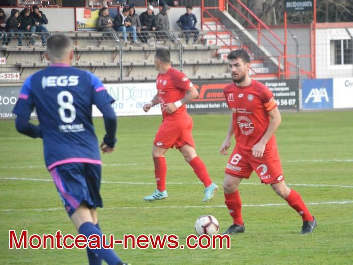 FCMB Besancon foot soccers match national3 Montceau-news.com 14041928