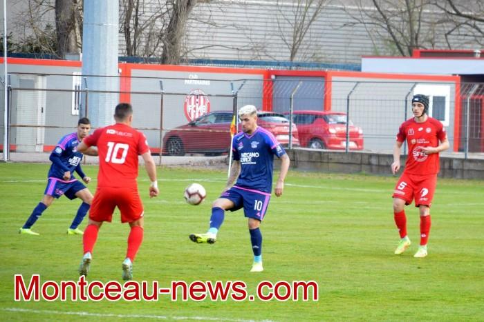 FCMB Besancon foot soccers match national3 Montceau-news.com 14041930
