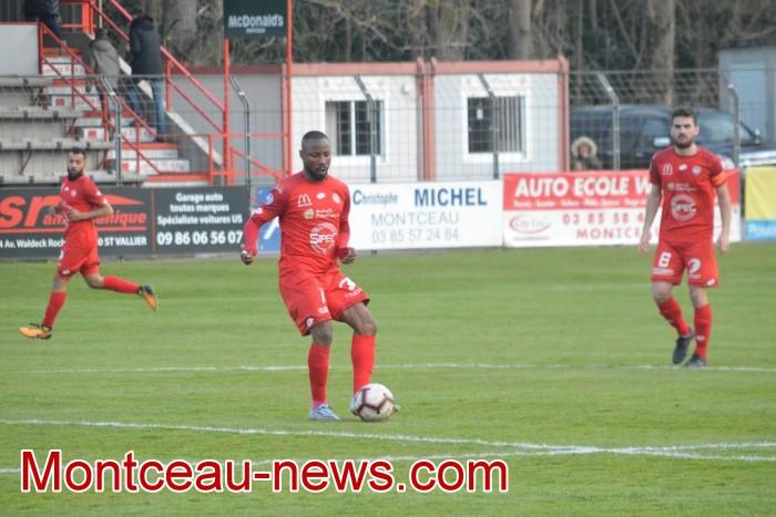 FCMB Besancon foot soccers match national3 Montceau-news.com 14041932