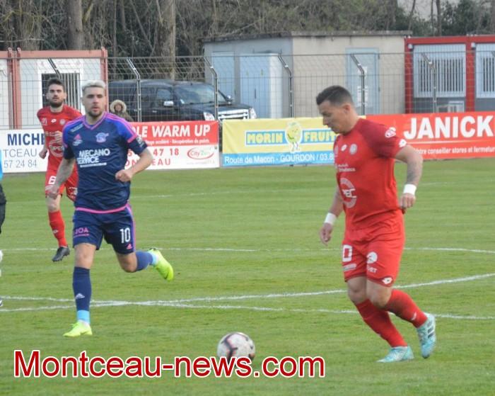 FCMB Besancon foot soccers match national3 Montceau-news.com 14041933
