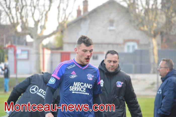 FCMB Besancon foot soccers match national3 Montceau-news.com 14041934