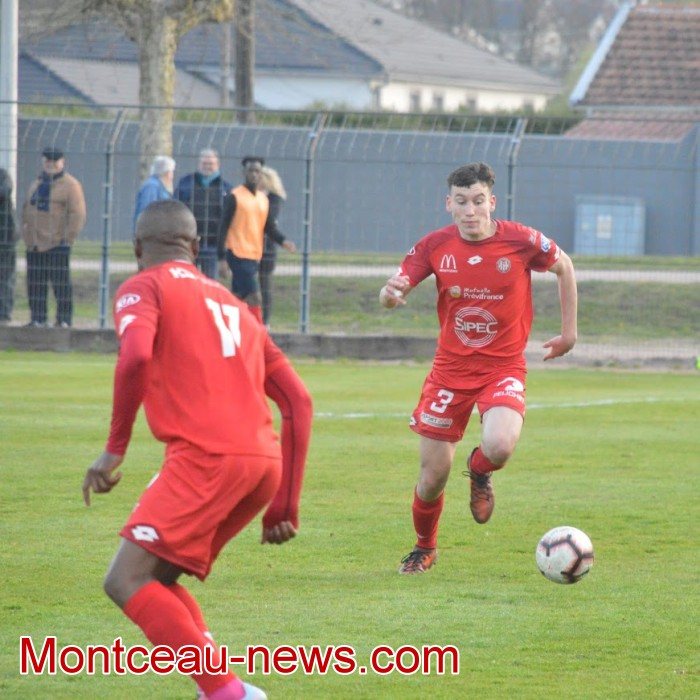 FCMB Besancon foot soccers match national3 Montceau-news.com 14041935