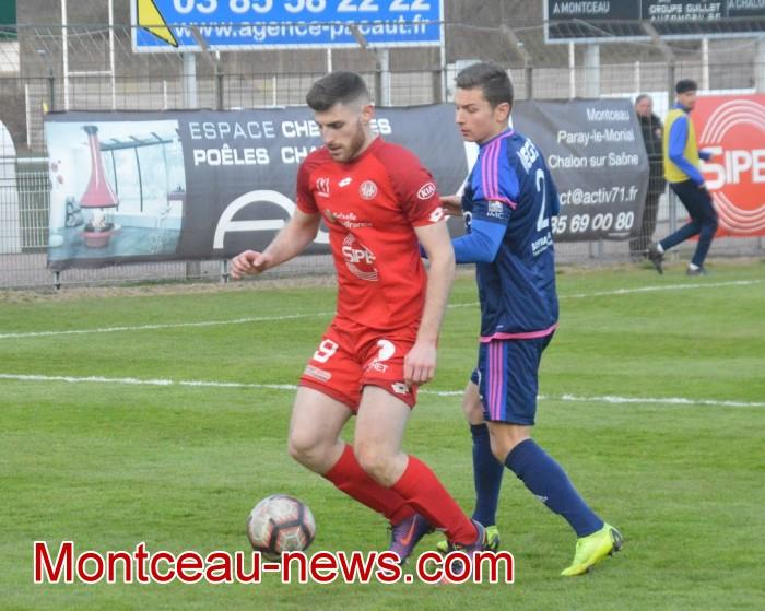 FCMB Besancon foot soccers match national3 Montceau-news.com 14041940