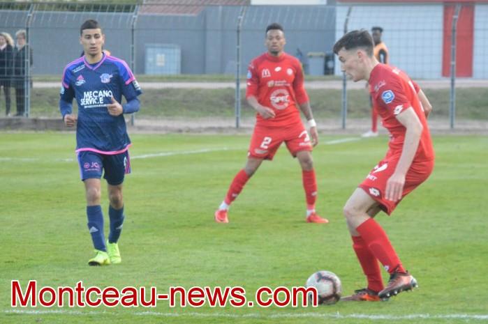 FCMB Besancon foot soccers match national3 Montceau-news.com 14041941
