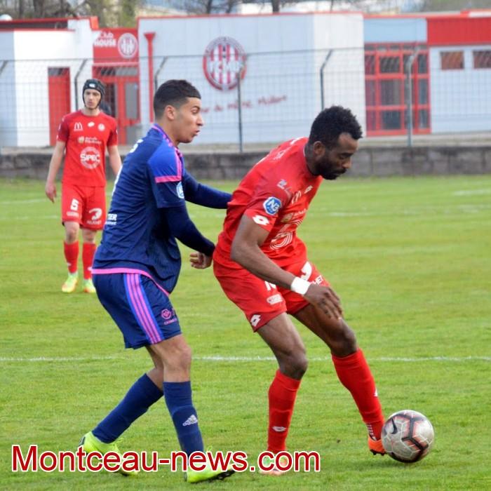 FCMB Besancon foot soccers match national3 Montceau-news.com 14041943
