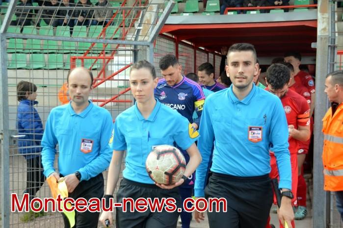 FCMB Besancon foot soccers match national3 Montceau-news.com 1404197