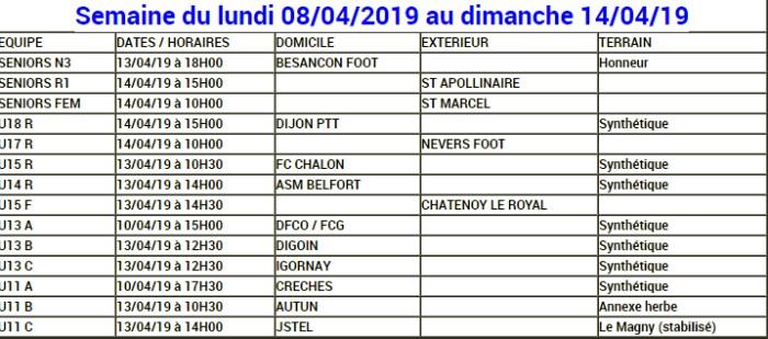 Planning FCMB foot soccers match club Montceau-news.com 120419