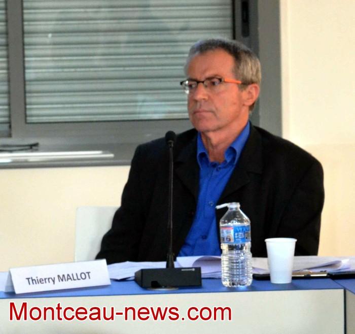 Thieery Malot, conseiller municiapl Saint-Vallier Montceau-news.com 140419