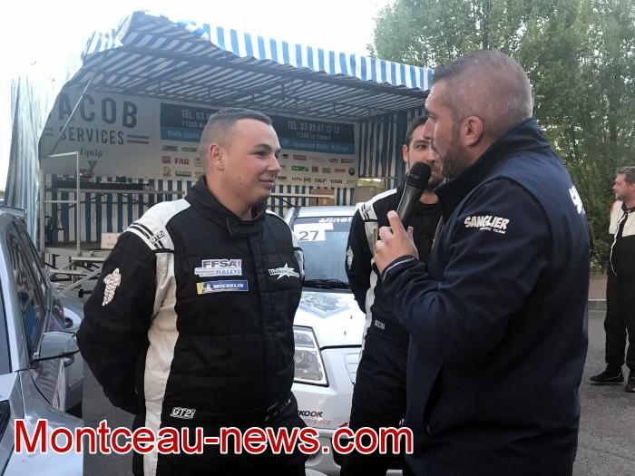 Vainqueurs rallye gueules noires course race speed vitesse Meca Sport Insertion FFSA auto mecanique Montceau-news.com 270419