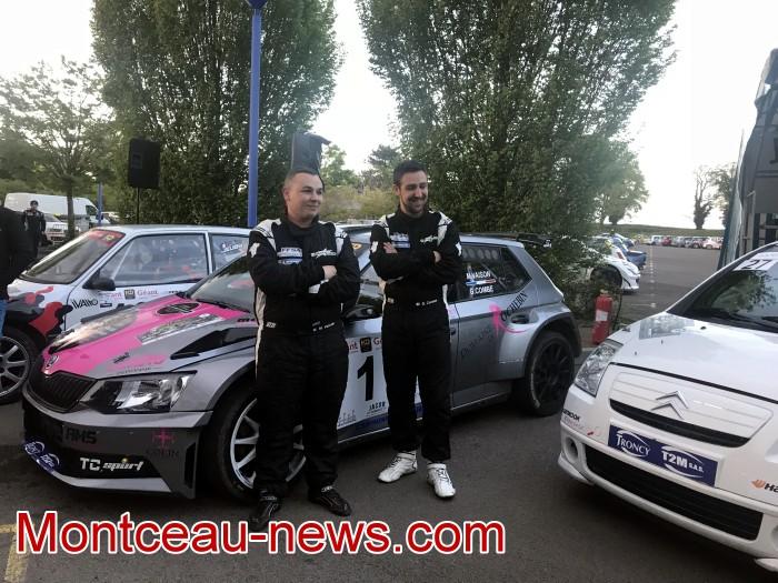 Vainqueurs rallye gueules noires course race speed vitesse Meca Sport Insertion FFSA auto mecanique Montceau-news.com 2704191