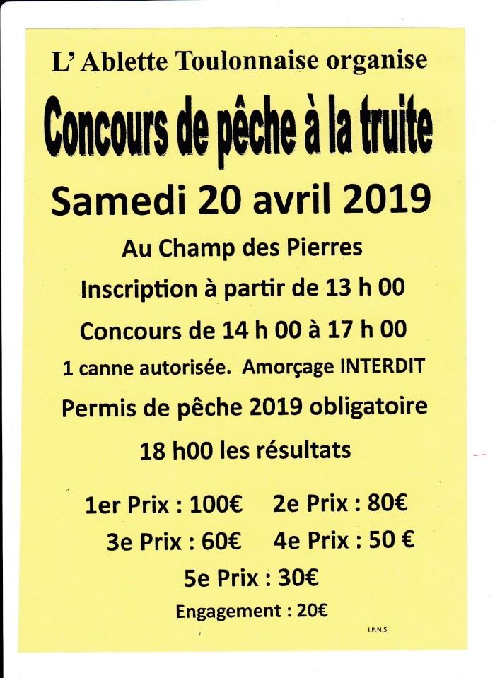 ablette poisson fich concours peche Toulon Arroux river affiche pub Montceau-news.com 160419