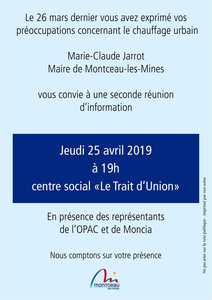 annonce meeting information chauffage urbain vapeur Moncia Jarrot Montceau-news.com 190419